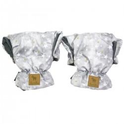 Waterproof Muff/Gloves Dark Grey Goodnight Velvet
