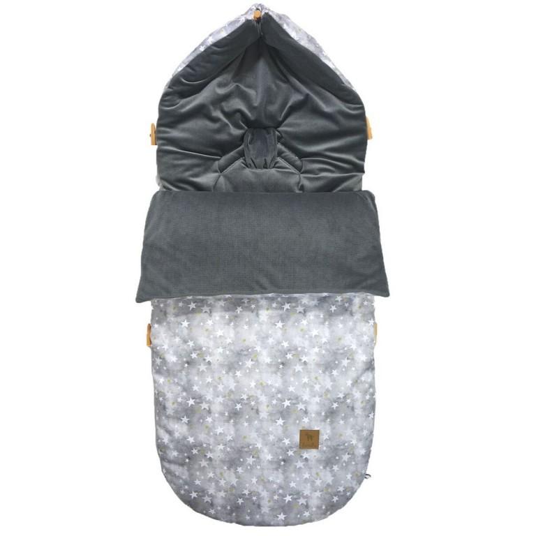 Śpiworek Dark Grey Goodnight L/XL (1-3 lat)