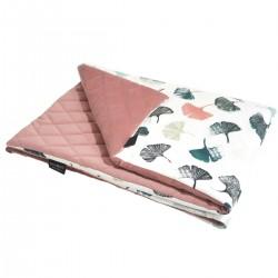 Preschooler Blanket 100x130cm Dusty Rose Biloba - Velvet