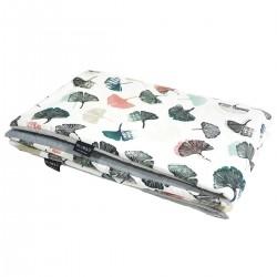 Preschooler Blanket 100x130cm Light Grey Biloba - Velvet