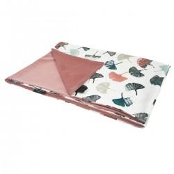 Newborn Blanket Light 60x70 Dusty Rose Biloba - Velvet