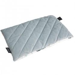 Preschooler Bed Pillow 40x60 Light Grey Biloba - Velvet