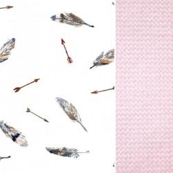 Śpiworek z futrem Pink Pure Velvet L/XL (1-3 lat)