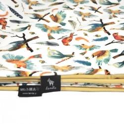 Kocyk Letni Banana Birdies 75 x 100cm - Velvet