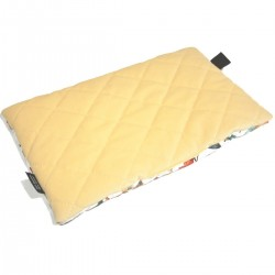 Medium Bed Pillow 25x40 Banana Birdies - Velvet