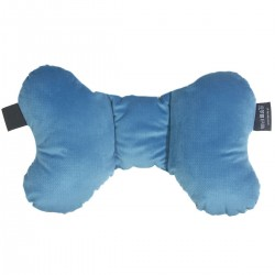 Shock-Absorbent Pillow Blue Birdies- Velvet