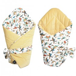 Cone Coverlet Banana Birdies - Velvet