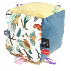 Sensory Pillow - Cube Birdies