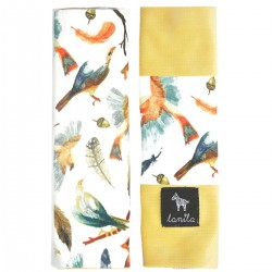 Ochraniacze na pasy Banana Birdies - Velvet
