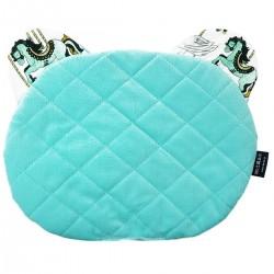 Teddy Pillow Aqua Funfair - Velvet