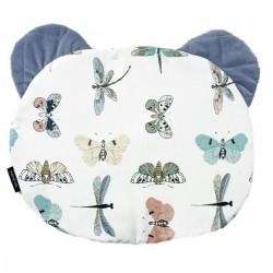 Teddy Pillow Grey Wings - Velvet