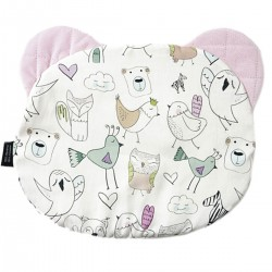Teddy Pillow Pink Tender Friends - Velvet