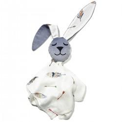 Snuggle Baby Rabbit 100% Bamboo Grey Pure