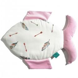 Bambusowa Fisherka Velvet Pink Pure