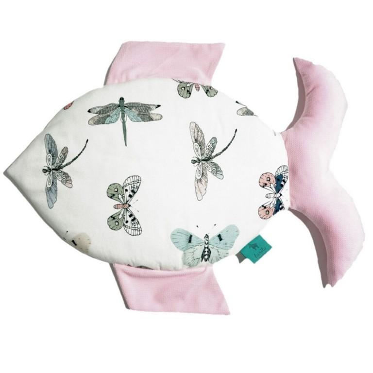Bambusowa Fisherka Velvet Pink Wings