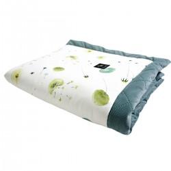 Newborn Blanket 60x70cm Khaki Fly Away - Velvet