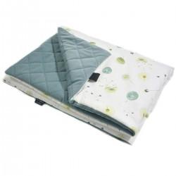 Preschooler Blanket 100x130cm Khaki Fly Away - Velvet