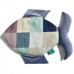 Fish 100% Bamboo Pillow Velvet Pink Wings