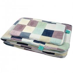 Beddings with Filling 75x100cm 100% Bamboo Lilac Queen Zebra