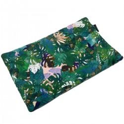 Preschooler Bed Pillow 40x60 Dark Grey Rainforest - Velvet