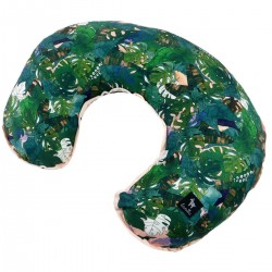 Breastfeeding Pillow Peach Rainforest - Velvet