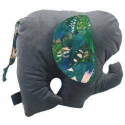Lucky Guy Pillow Dark Grey Rainforest