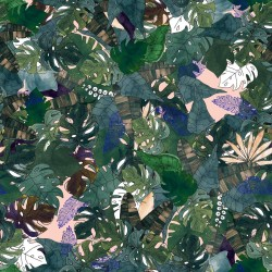 Pościel bawełniana Rainforest 100 x 135cm