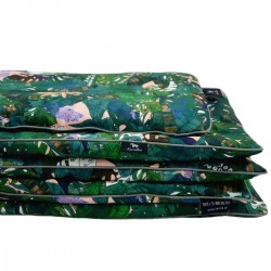 Beddings with Filling 100x135cm Grey Rainforest