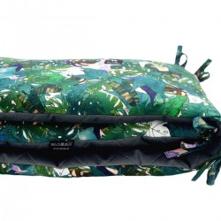 Bed Bumper 70x140cm - Dark Grey Rainforest