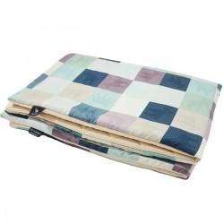 Preschooler Blanket 100x130cm Latte Queen Zebra- Velvet