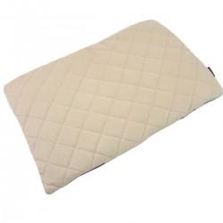 Preschooler Bed Pillow 40x60 Latte Queen Zebra - Velvet