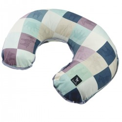 Breastfeeding Pillow Grey Queen Zebra - Velvet