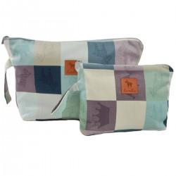 Cosmetic Bag Queen Zebra L