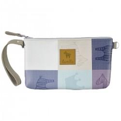 Waterproof Cosmetic Bag Queen Zebra