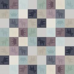 Pościel bawełniana Queen Zebra 100 x 135cm