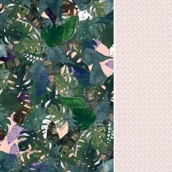 Poduszka Motylek - Velvet Peach Rainforest