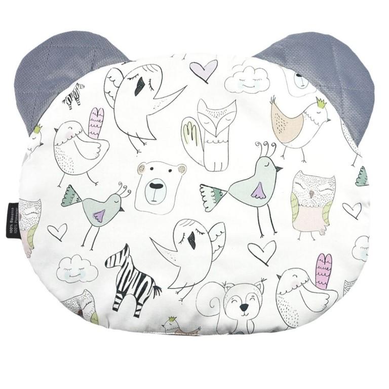 Poduszka Miś - Velvet Grey Tender Friends