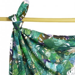 Bamboo Swaddle 75x100cm Rainforest