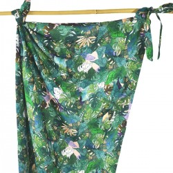 Bamboo Swaddle 100x120cm Rainforest