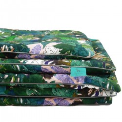 Beddings with Filling 75x100cm 100% Bamboo Grey Rainforest