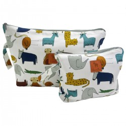 Cosmetic Bag In the Zoo L