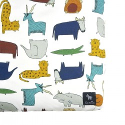 Bedsheet 70x140cm In the Zoo