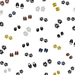 Prześcieradło Footprints 60x120cm