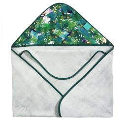 Bamboo Towel Grey Rainforest