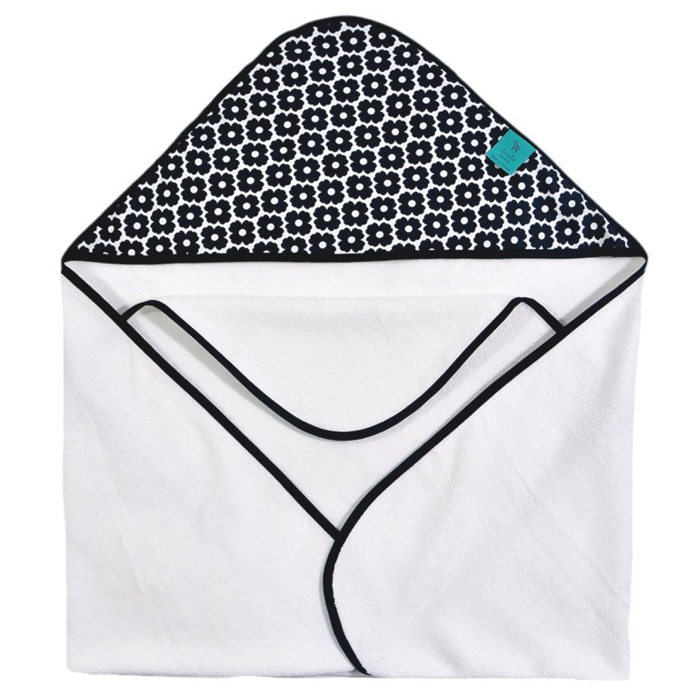 Bambusowy Ręcznik z Kapturem Grey Pure