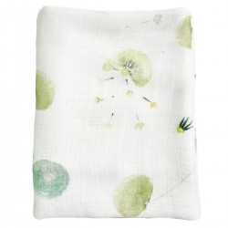 Baby Muslin Swaddle 100% Bamboo 75x75cm Fly Away