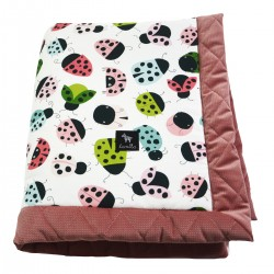 Kocyk Velvet 60x70 Dusty Rose Ladybird