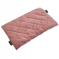 Medium Bed Pillow 25x40 Dusty Rose Ladybird - Velvet