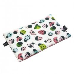 Preschooler Bed Pillow 40x60 Dusty Rose Ladybird - Velvet
