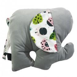 Lucky Guy Pillow Silver Ladybird
